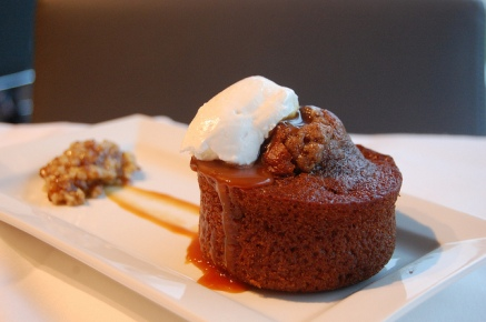 Sticky Toffee Pudding Cake by Flickr member stuart_spivack